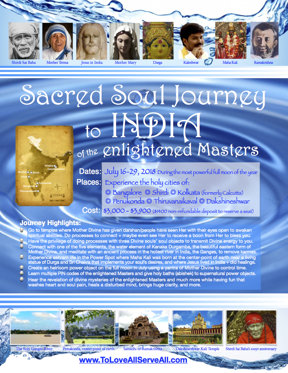 2018 India Power Journey Itinerary final poster ad copy